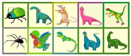 Memory Onlinespiel spielend lernen Kindergarten Vorschule