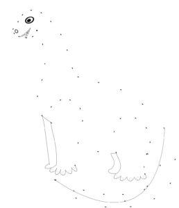 Dinos selber zeichnen Malvorlage Kindergarten Vorschule