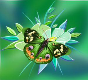 Puzzle Kinder Onlinespiel Schmetterling spielend lernen Kindergarten Vorschule